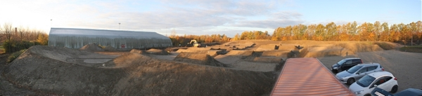 Panorama of BMX stadium